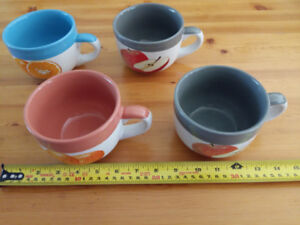 Coffee mugs. Heavy and durable very decorative. Brand new in the