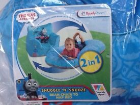 """Thomas & Friends - Snuggle """"n"""" Snooze, Bean chair to Nap Bed, Brand new,"""