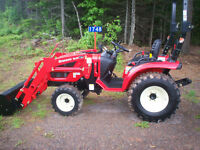 NEW BRANSON 2400 With Loader and Mower Deck