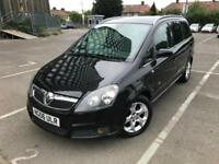 2006 (06) Vauxhall Zafira 1.9 CDTi Design 7 Seater 6 Months Warranty included