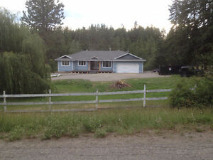 large walkout rancher close to town and silverstar