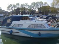 1 bed house boat + Gated Zone 2 Marina Mooring, Perfect Central Pied a terre