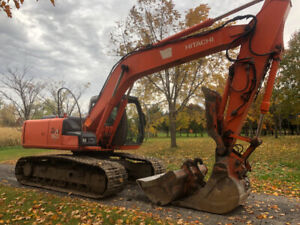 Shovel excavatrice