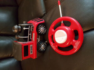 Remote control train (for 2-3 year-old)