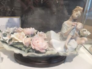 """A LIMITED EDITION LLADRO FIGURINE CALLED """"RIVER OF DREAMS"""""""