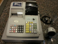 SHARP cash register with Barcode scanner
