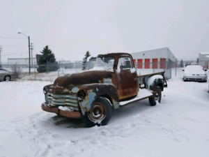 1951 Chevy 1420 was running 3yrs ago