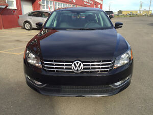 2013 Volkswagen Passat TDI, 94 000 km, LEATHER!