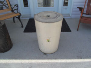 1 BARIL BARREL ANTIQUE METAL VINTAGE ANTIQUITE