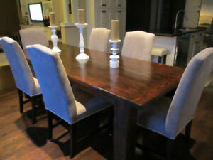 Barn Wood Kitchen Dining Harvest Tables 6 7 Foot Sizes