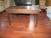Wood Piano Bench w/ opening seat