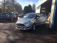 FORD FIESTA 1.25 ( 82ps ) ( E6 ) 2015 ZETEC ONE LADY OWNER 16,390miles 65 reg.
