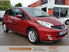 NISSAN NOTE DCI ACENTA PREMIUM 2014 Diesel Manual in Red