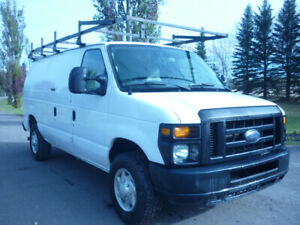 2012 Ford E-350 Cargo Van SHELVING/ROOF RACK/FULLY LOADED