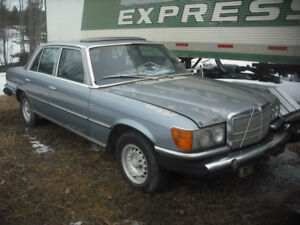 WRECKING / PARTING OUT 450 SE 4-Door Loaded