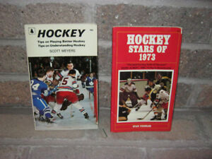 Books - Hockey Stars of 1973 and Tips on Playing Better Hockey
