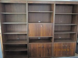 CABINETS  3 PCE, TV CAB. & 5 DOOR CABINET