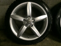 Audi S4,A4 (4) Mags Bridgestone ws60 245/40/18 like new $1500.00