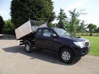 2012 12 TOYOTA HILUX EXTRA-CAB 4X4 4WD HIGH SIDE-D ARBORIST TIPPER PICKUP # 84K