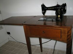 Singer sewing machine,smoke free environment