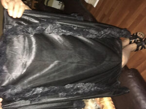 3 satin and lace ladies robes