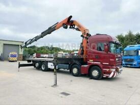 2007 SCANIA R420, 8X2 REAR LIFT AND STEER,