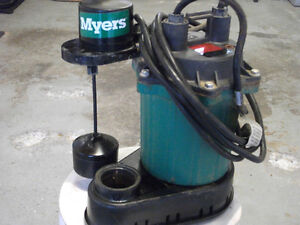 Sump Pump---Myers Automatic