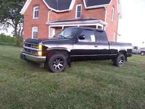 1998 Chevy truck will trade with Walker mower