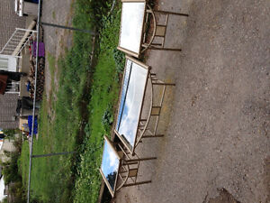 Glass coffee and end tables (new reduced price) Peterborough Peterborough Area image 1