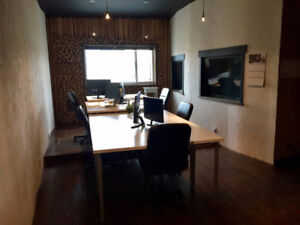 Fully Furnished 1,400sqft Office with Storage in Mt Pleasant
