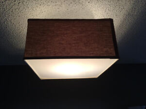 Ceiling Light with Matching Wall Sconces for Sale