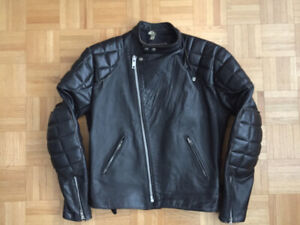 TT Leathers International Men's Vintage Cafe Racer Jacket