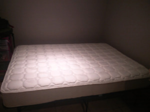 Double bed and basic frame