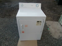Like new,  Hotpoint 5 cycle commercial quality electric dryer