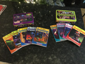 Goosebumps - 9 books new, 1 used