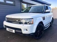 2013 Land Rover Range Rover Sport 3.0TDV6 4X4 Auto HSE Black Edition *White FSH*