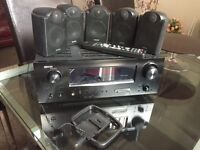 Denon amplifier + Tannoy fx 5.1 with Subwoofer
