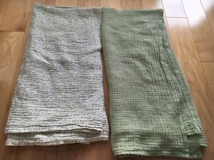 Two Swaddle Blankets