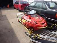 parting out 3-edge x-600cc and 800cc