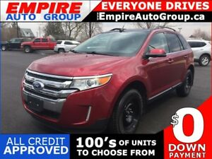 2013 FORD EDGE LIMITED * AWD * LEATHER * NAV * REAR CAM * PANO R
