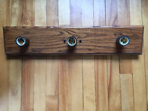 solid wood bathroom light fixture
