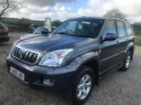 Toyota Land Cruiser 3.0 D-4D auto LC3 8 seater lower tax group very clean