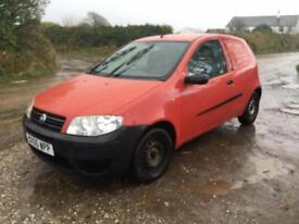 05 REG FAIT PUNTO 1.3 DIESEL VAN ONE OWNER FROM NEW
