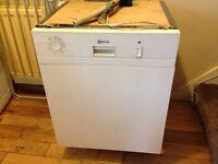 Nerf undercounter dishwasher