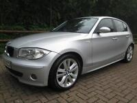 05/05 BMW 116I SPORT 5DR HATCH IN MET SILVER WITH ONLY 79,000 MILES