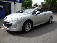 PEUGEOT 308 CC 1.6HDi SPORT ** 2010 60 ** DIESEL COUPE CABRIOLET