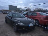 "Mazda rx8 black leather seats 18""alloys wheel"