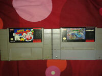 Jeux de super nintendo / snes ,TMNT turtles in time