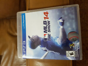 Mint PS3 MLB 14 The Show Game