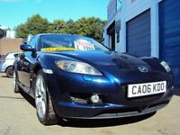 "Mazda RX-8 Coupe 237 BHP– 2006 Year ""06"" Plate- £1,999"